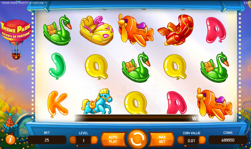 Theme Park: Tickets of Fortune Online Slot - Rizk Online Casino Sverige